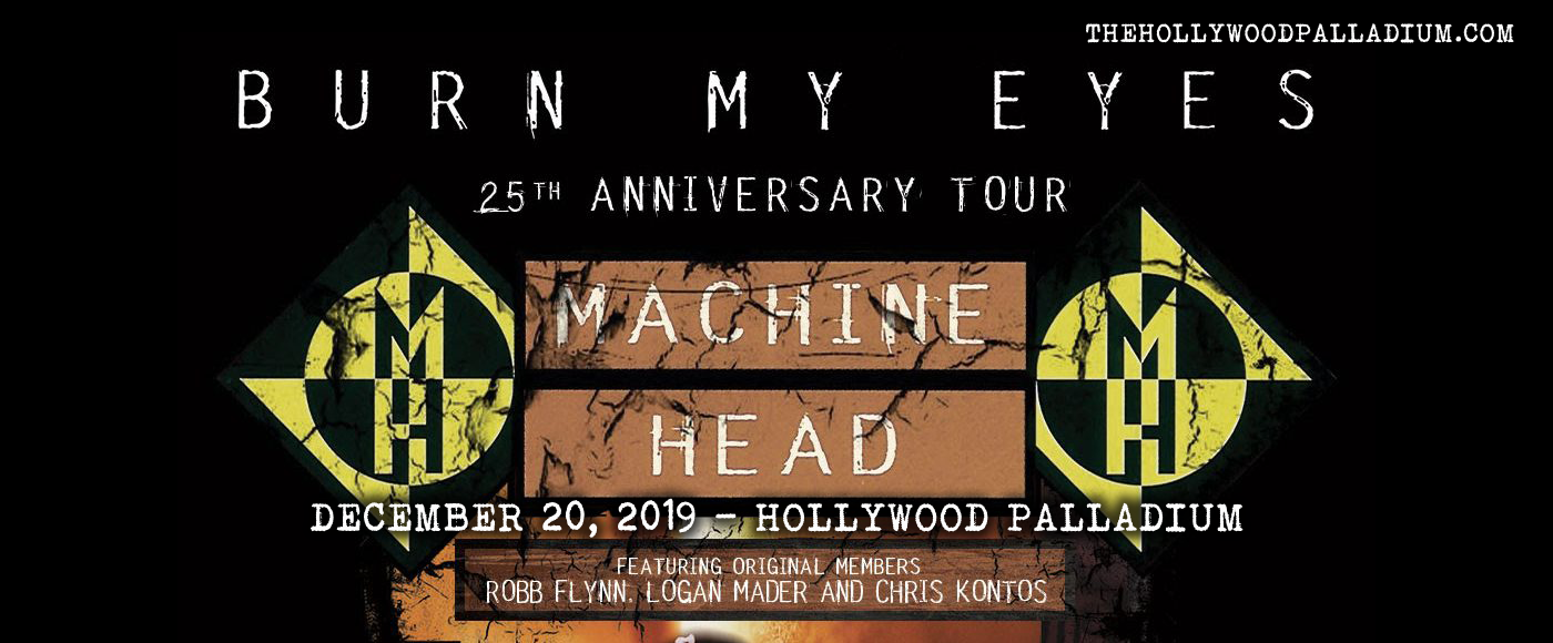 Machine Head at Hollywood Palladium