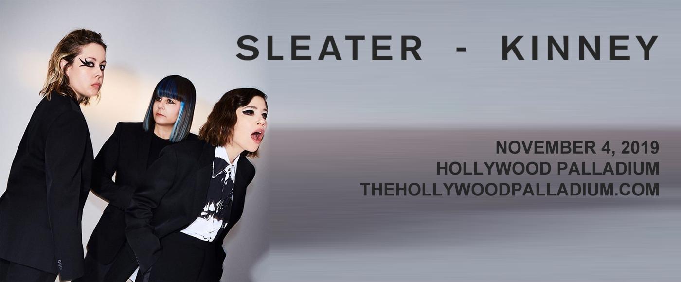 Sleater-Kinney at Hollywood Palladium