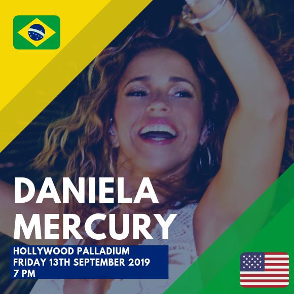 Daniela Mercury at Hollywood Palladium