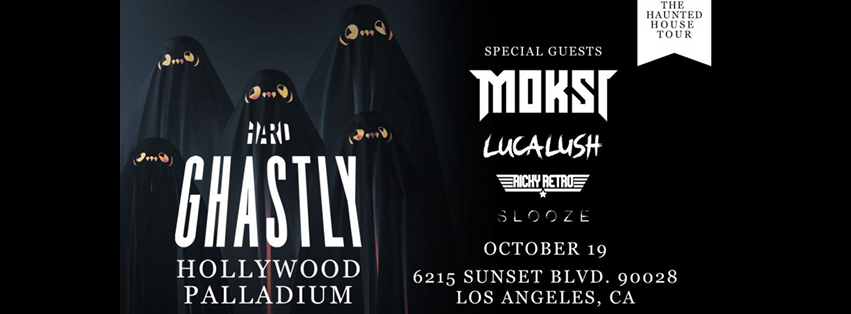 Ghastly - The Haunted House Tour at Hollywood Palladium