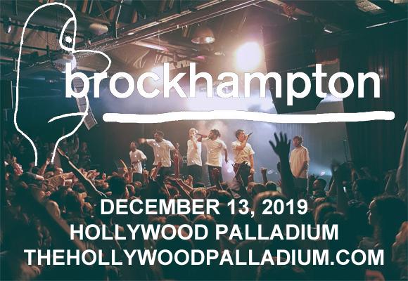 Brockhampton at Hollywood Palladium