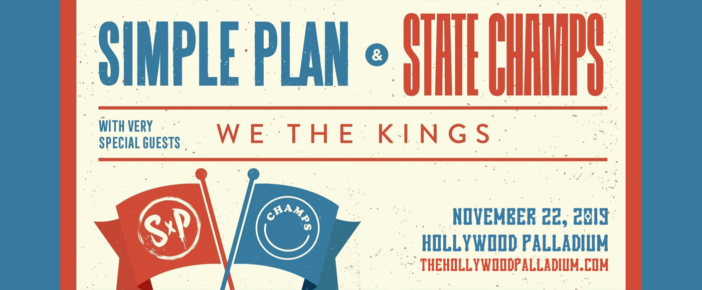 Simple Plan & State Champs at Hollywood Palladium