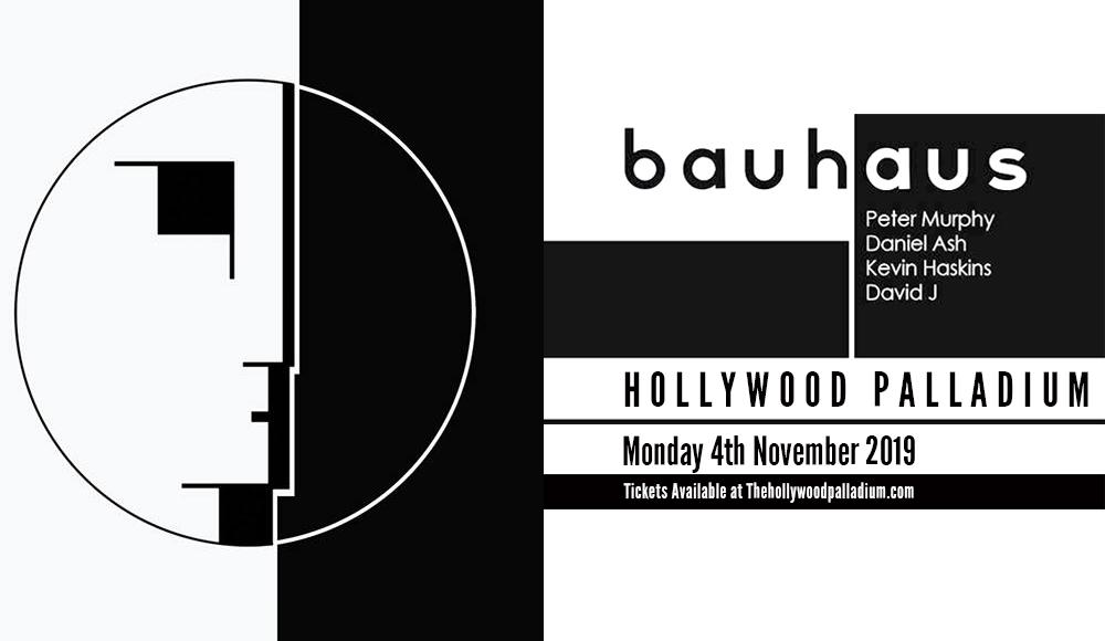 Bauhaus at Hollywood Palladium