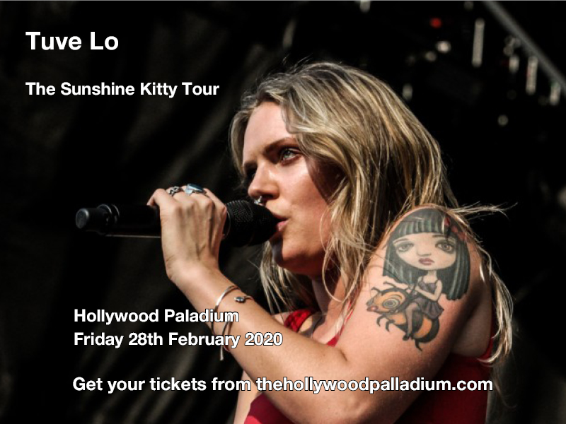Tove Lo, Sunshine Kitty Tour at Hollywood Palladium
