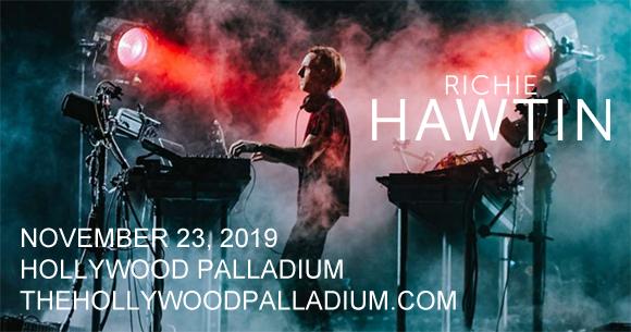 Richie Hawtin & Joseph Capriati at Hollywood Palladium