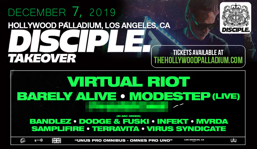 Disciple Takeover at Hollywood Palladium