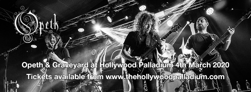 Opeth & Graveyard at Hollywood Palladium