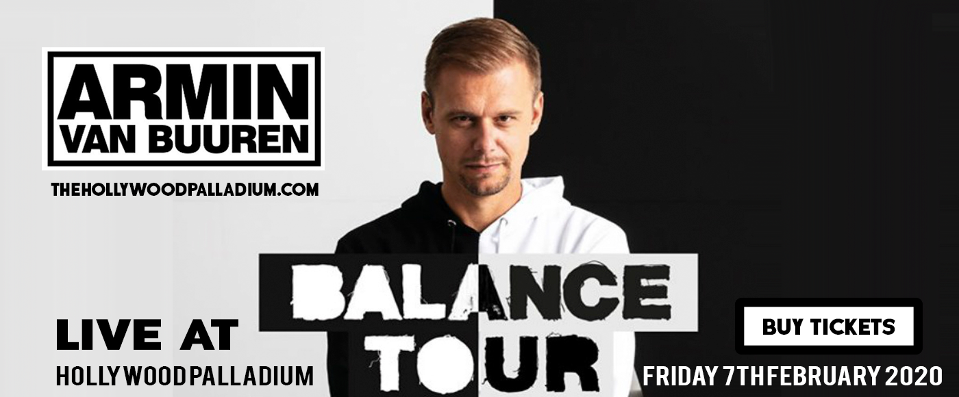Armin Van Buuren at Hollywood Palladium