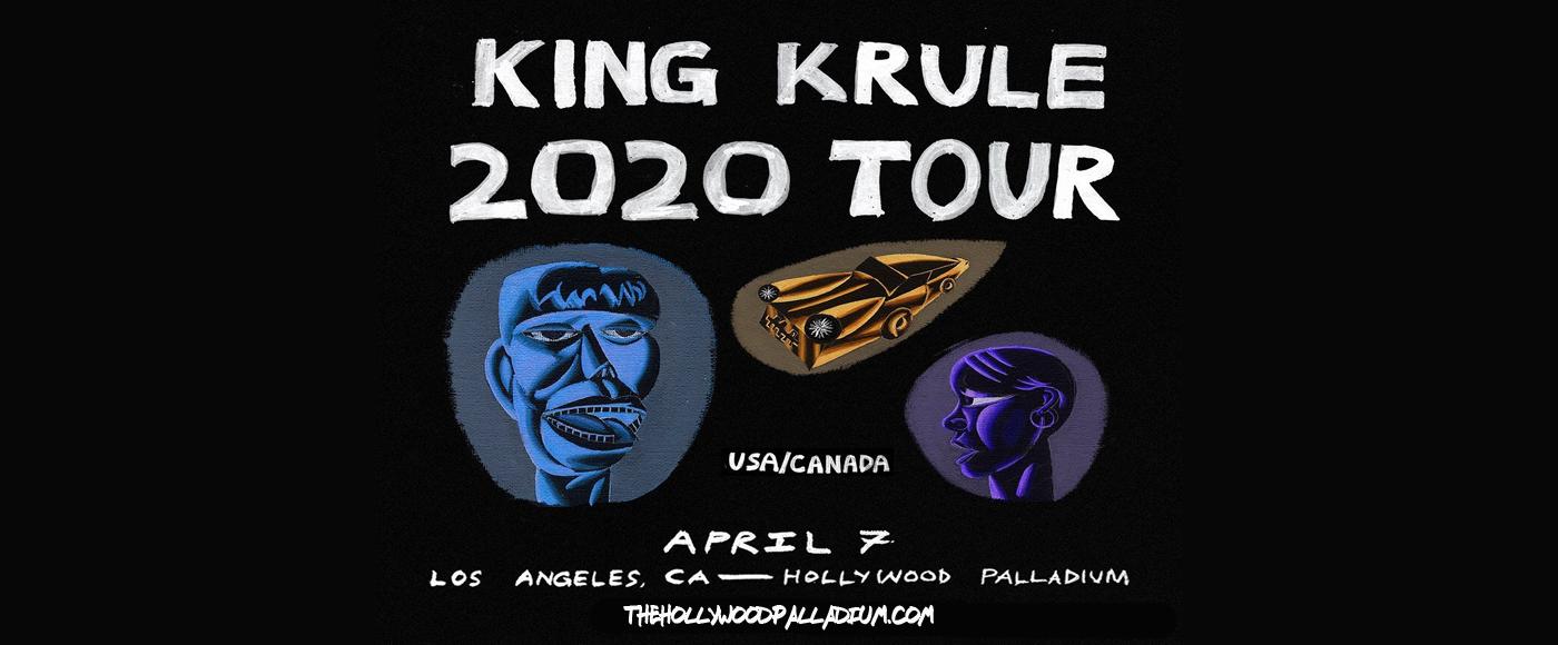 King Krule at Hollywood Palladium