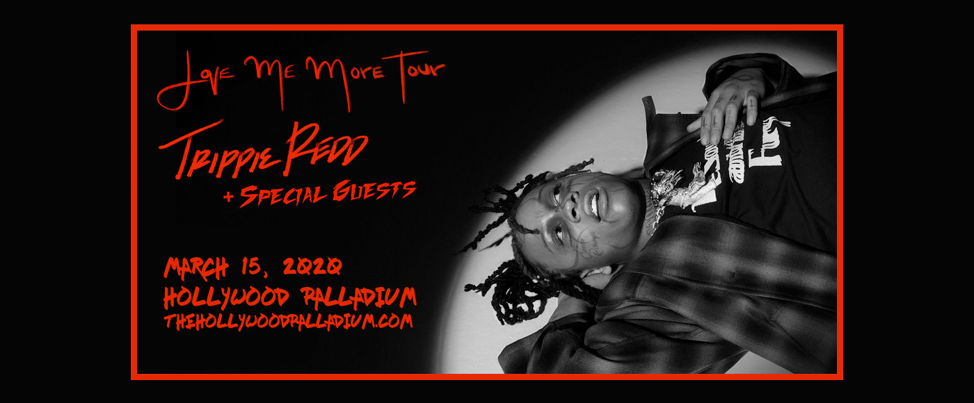 Trippie Redd at Hollywood Palladium