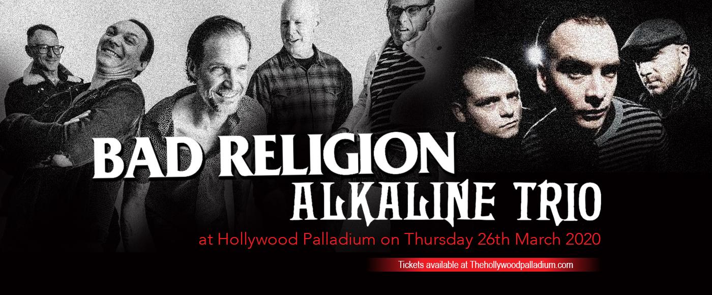 Bad Religion & Alkaline Trio at Hollywood Palladium