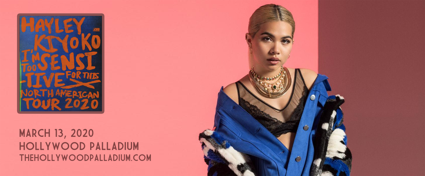 Hayley Kiyoko at Hollywood Palladium