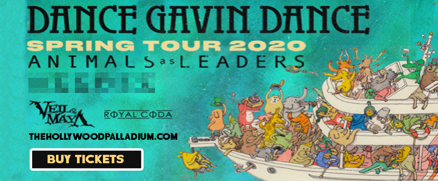 Dance Gavin Dance at Hollywood Palladium
