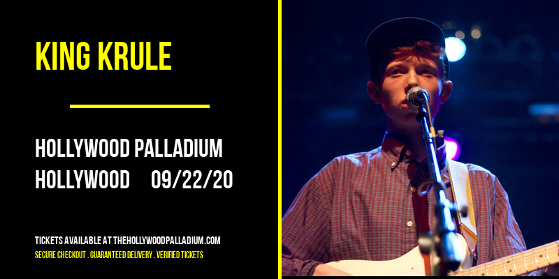 King Krule at Hollywood Palladium