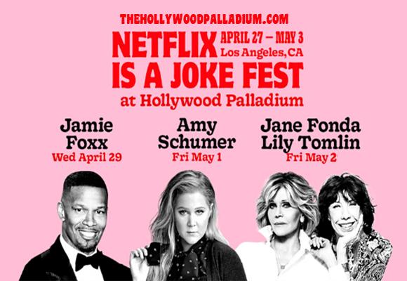 Netflix Is A Joke Festival: Jane Fonda & Lily Tomlin [CANCELLED] at Hollywood Palladium