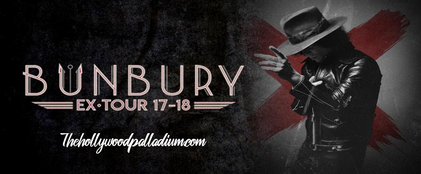 Bunbury [POSTPONED] at Hollywood Palladium