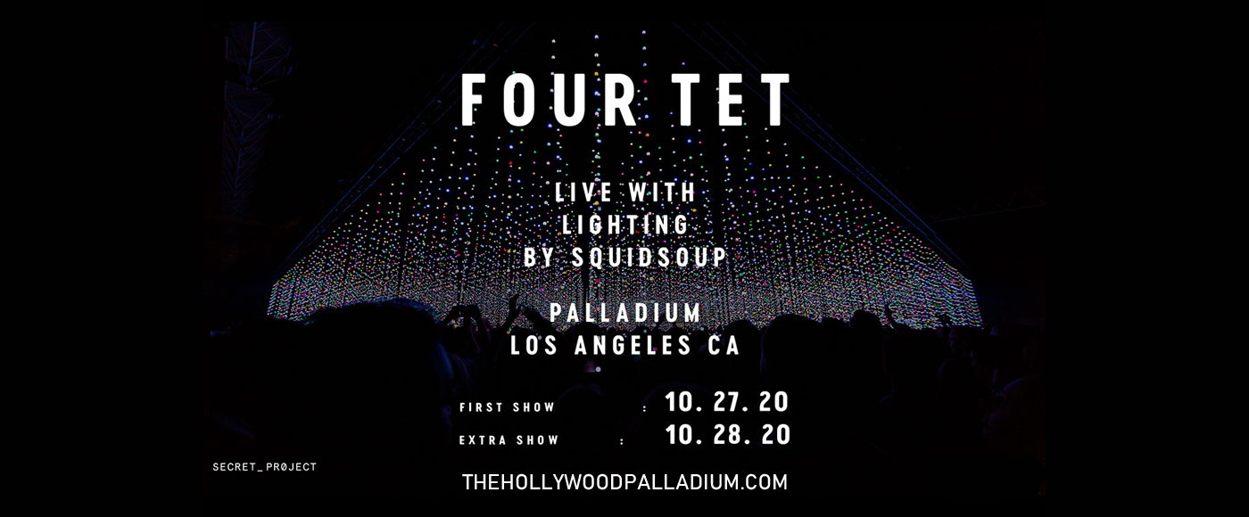 Four Tet [CANCELLED] at Hollywood Palladium