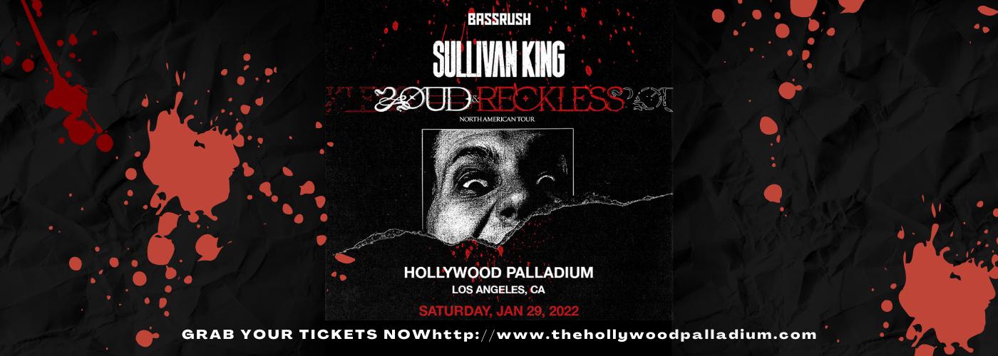 Sullivan King at Hollywood Palladium
