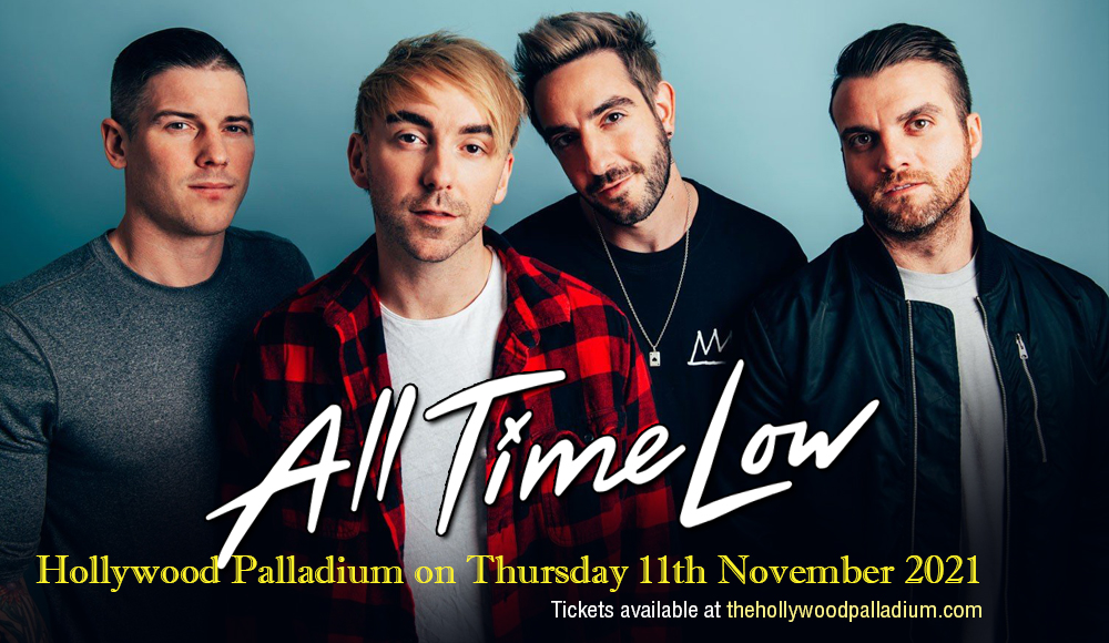 All Time Low at Hollywood Palladium