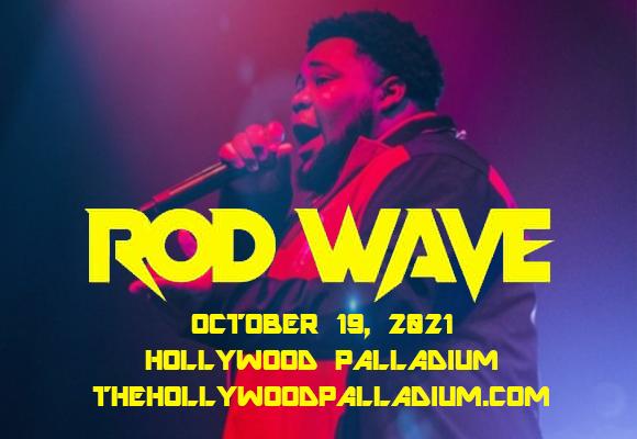 Rod Wave at Hollywood Palladium