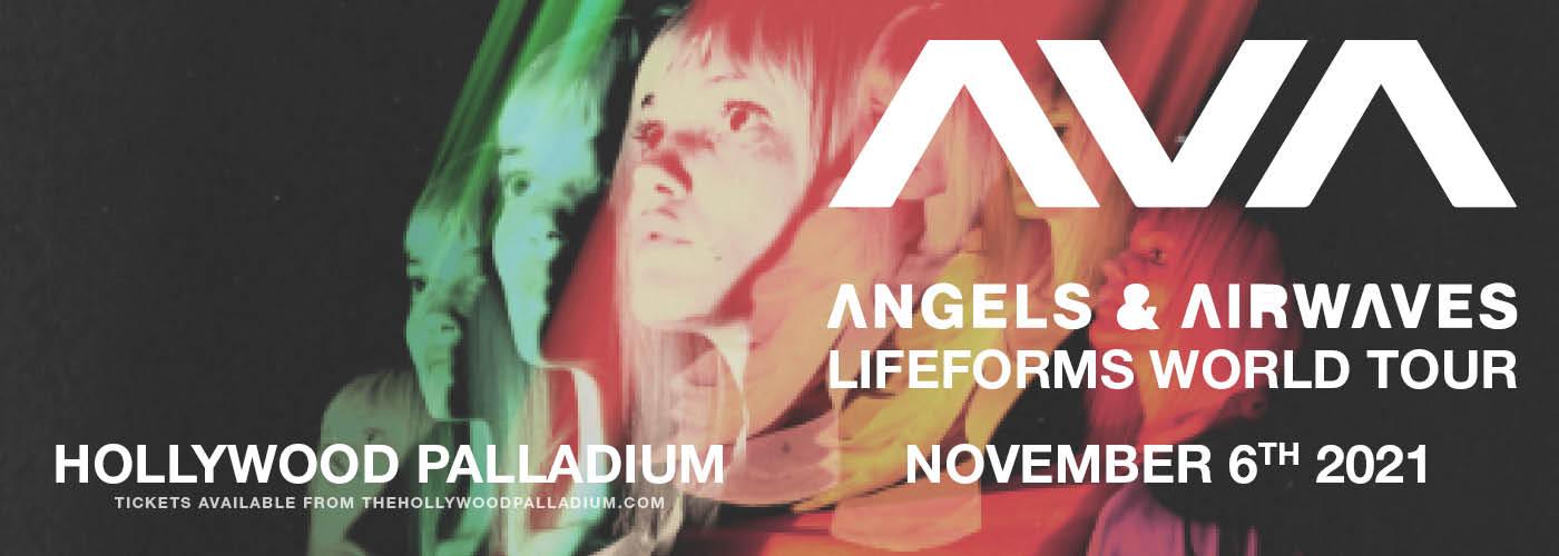 Angels and Airwaves: Lifeforms World Tour at Hollywood Palladium
