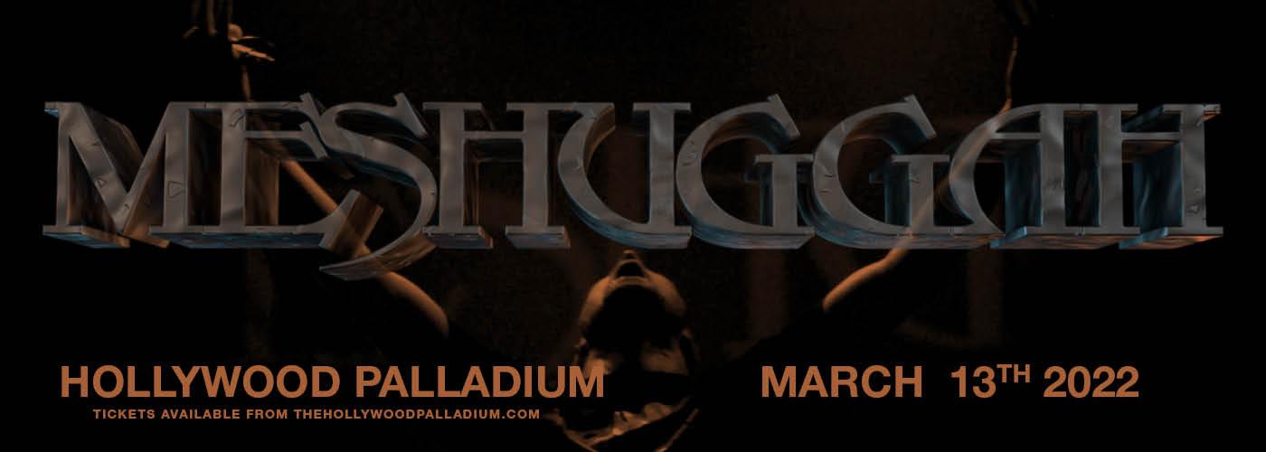Meshuggah at Hollywood Palladium
