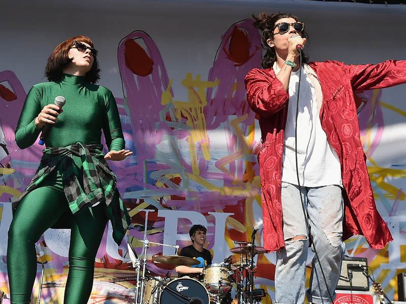 Grouplove: Ten years of Never Trust a Happy Song at Hollywood Palladium