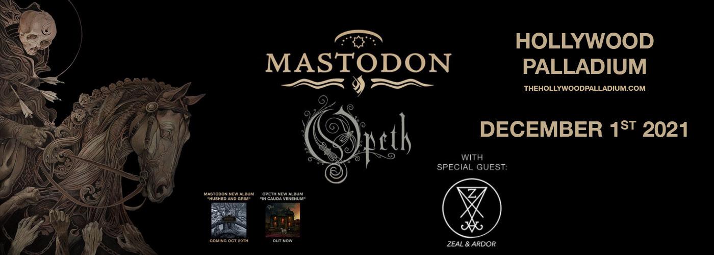 Opeth and Mastodon Co-Headline Tour at Hollywood Palladium