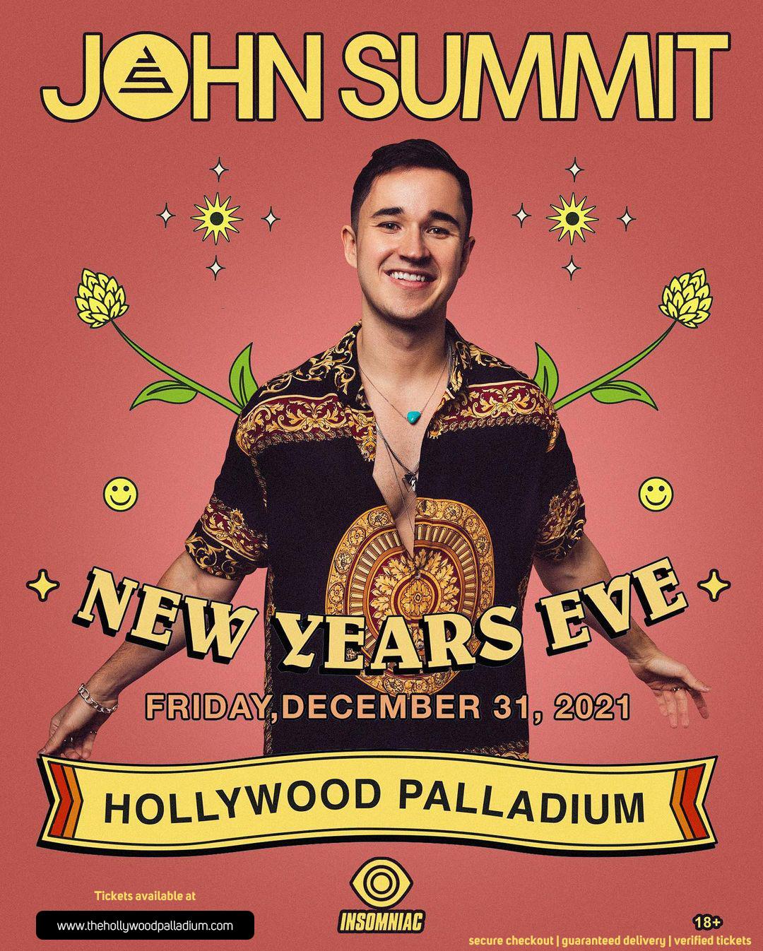 John Summit at Hollywood Palladium