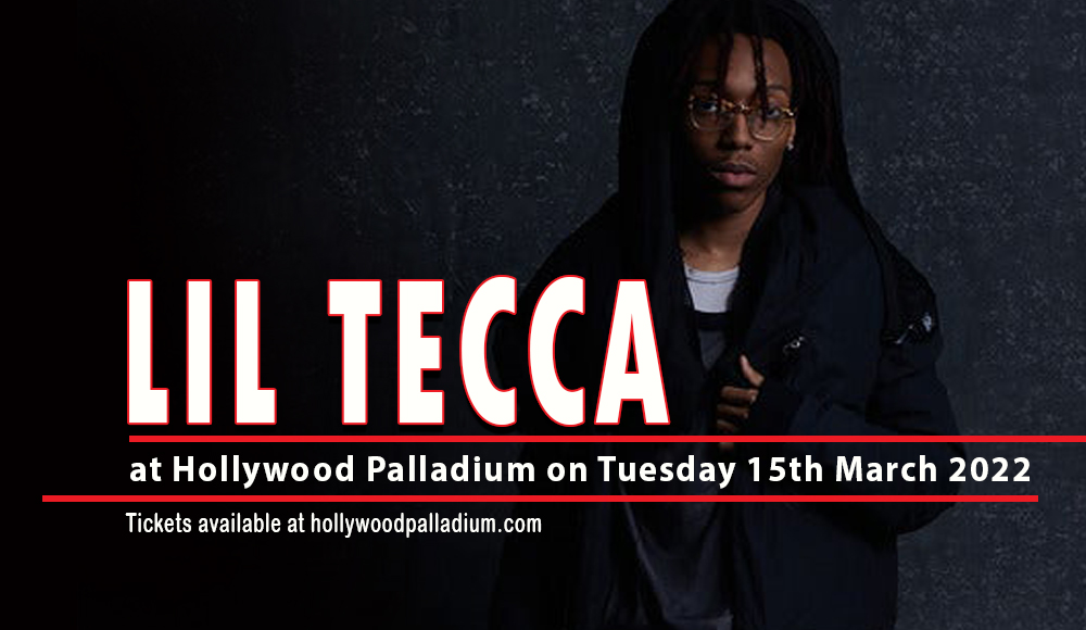 Lil Tecca at Hollywood Palladium