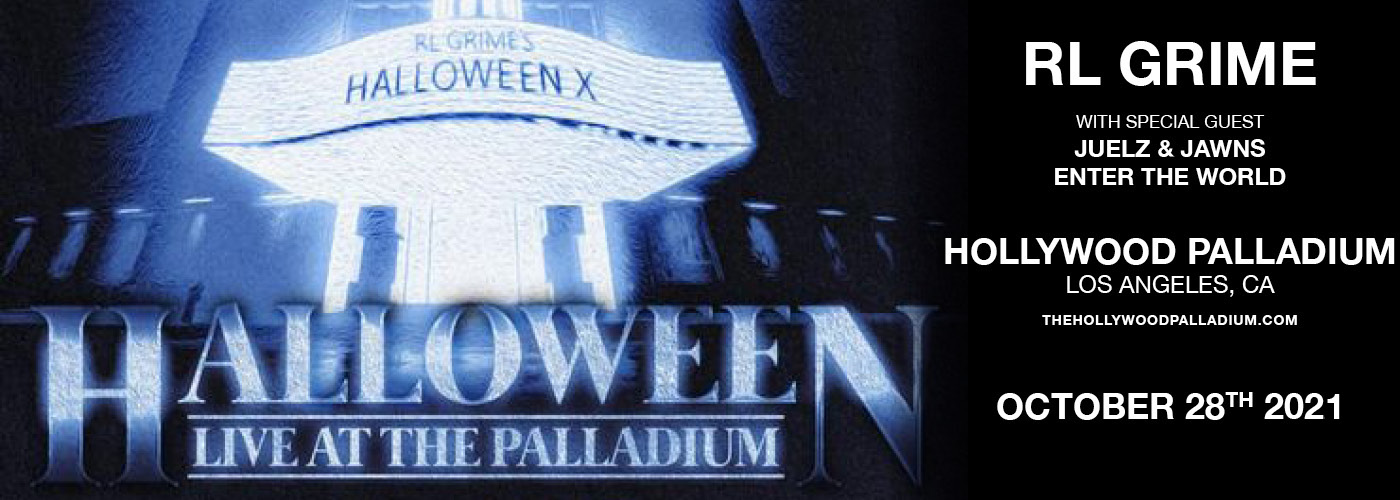 RL Grime Presents: Halloween X Live at Hollywood Palladium